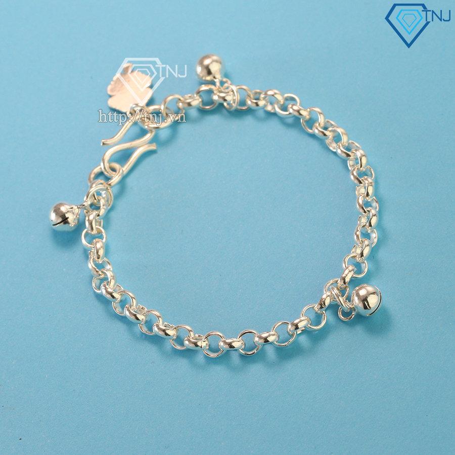 Lắc bạc cho bé có chuông LTT0045