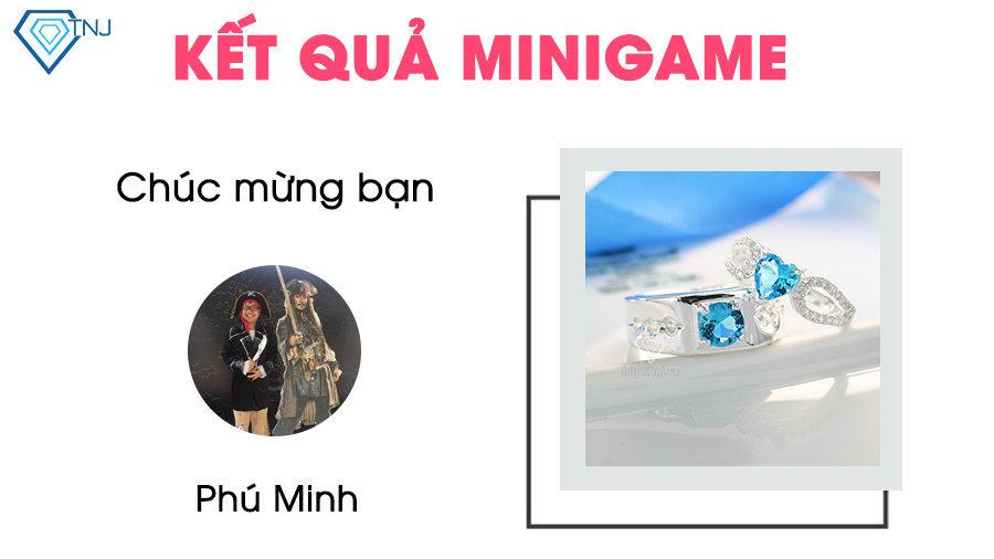 kết quả minigame ngày 03/12