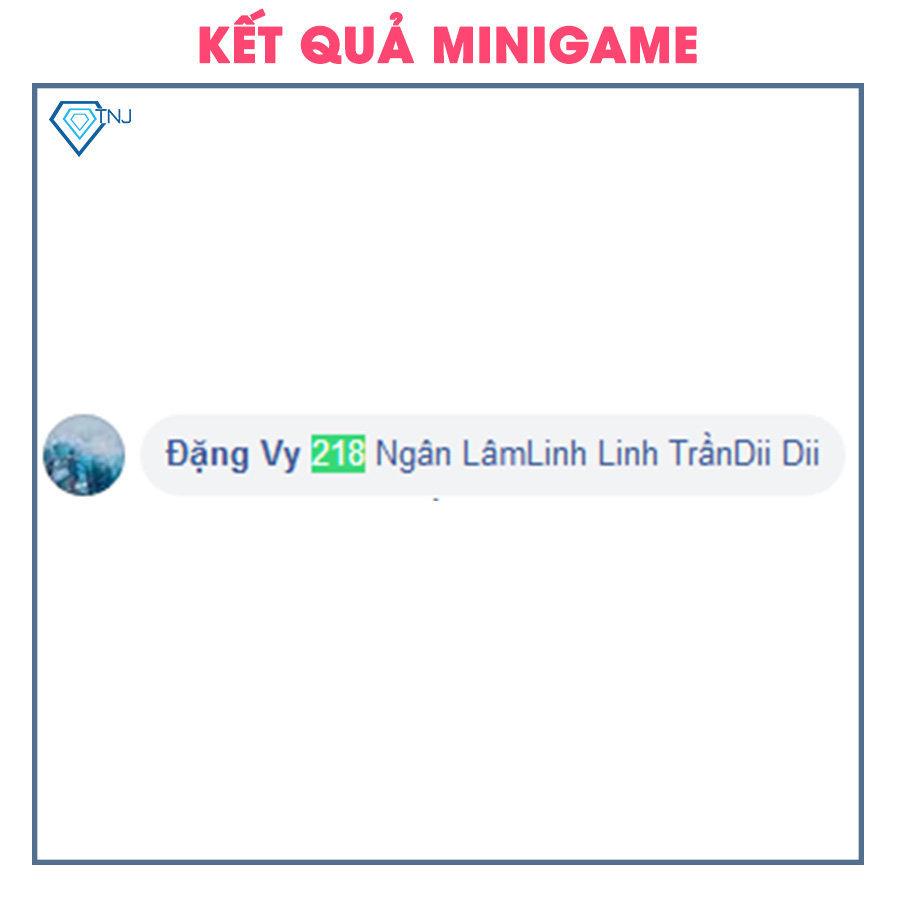 Kết quả minigame ngày 13/07
