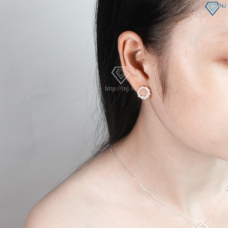 Bộ trang sức bạc huyền thoại biển xanh đẹp BTS0023