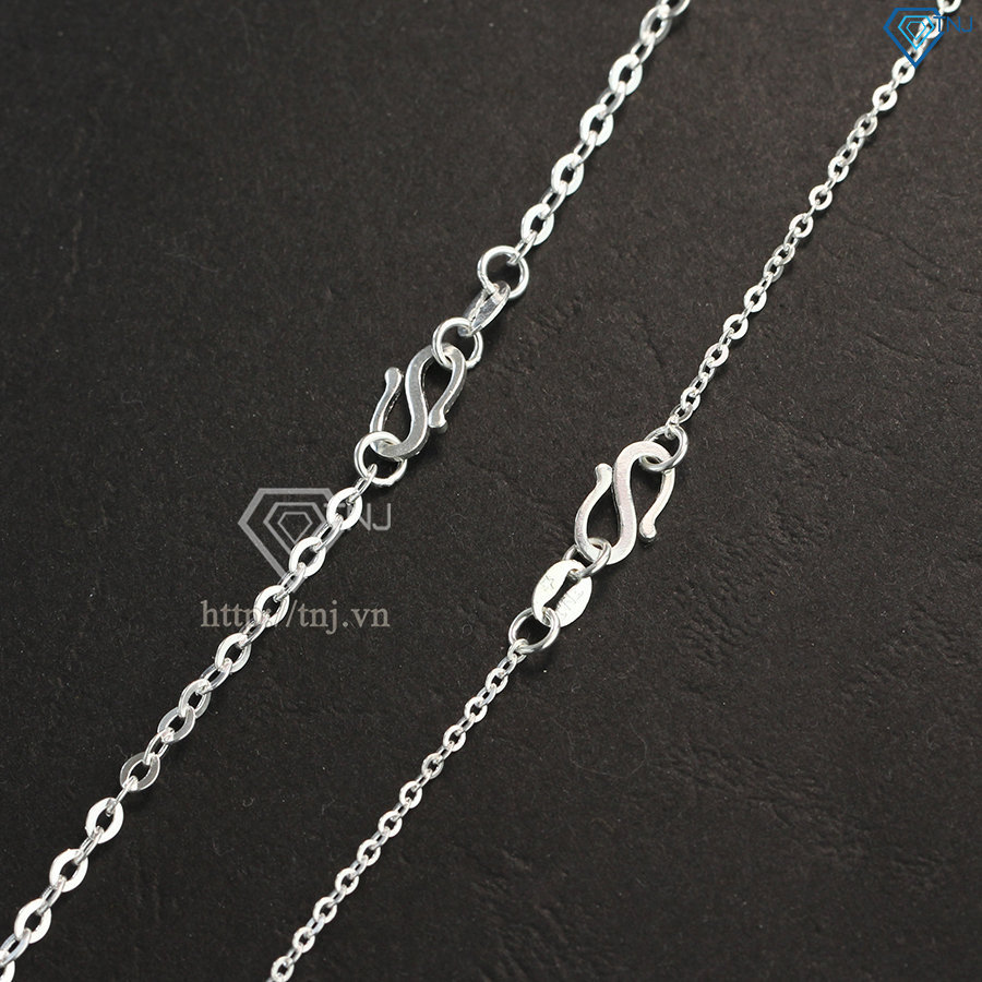 Dây chuyền cặp đôi bạc thánh giá đẹp DCD0029