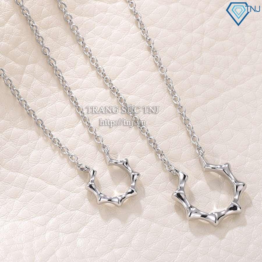 dây chuyền cặp đôi bạc ngôi sao dcd0008