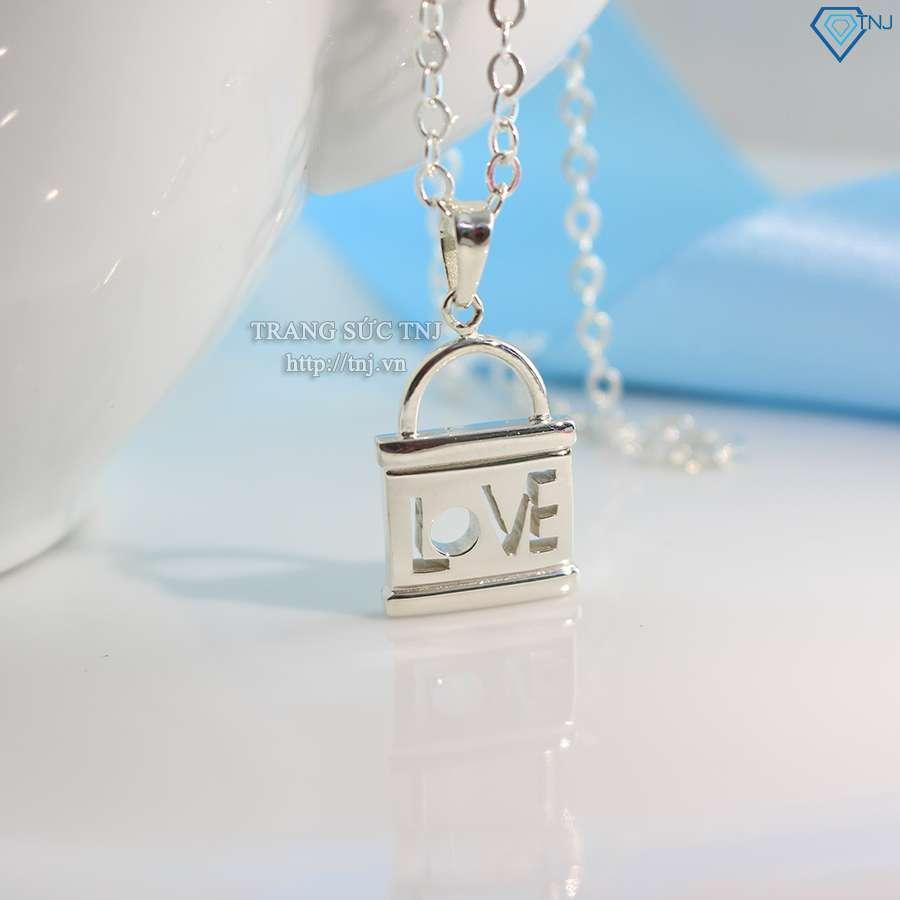 dây chuyên cặp đôi bạc chìa khóa tình yêu dcd0016