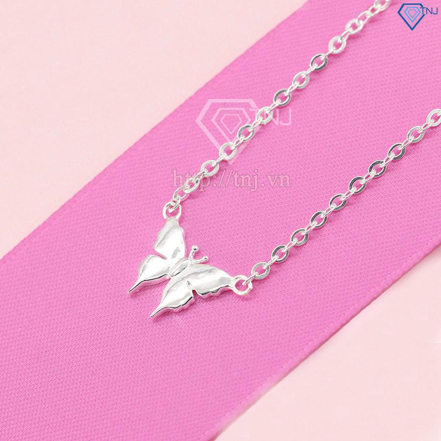 Dây chuyền bạc nữ cánh bướm DCN0086