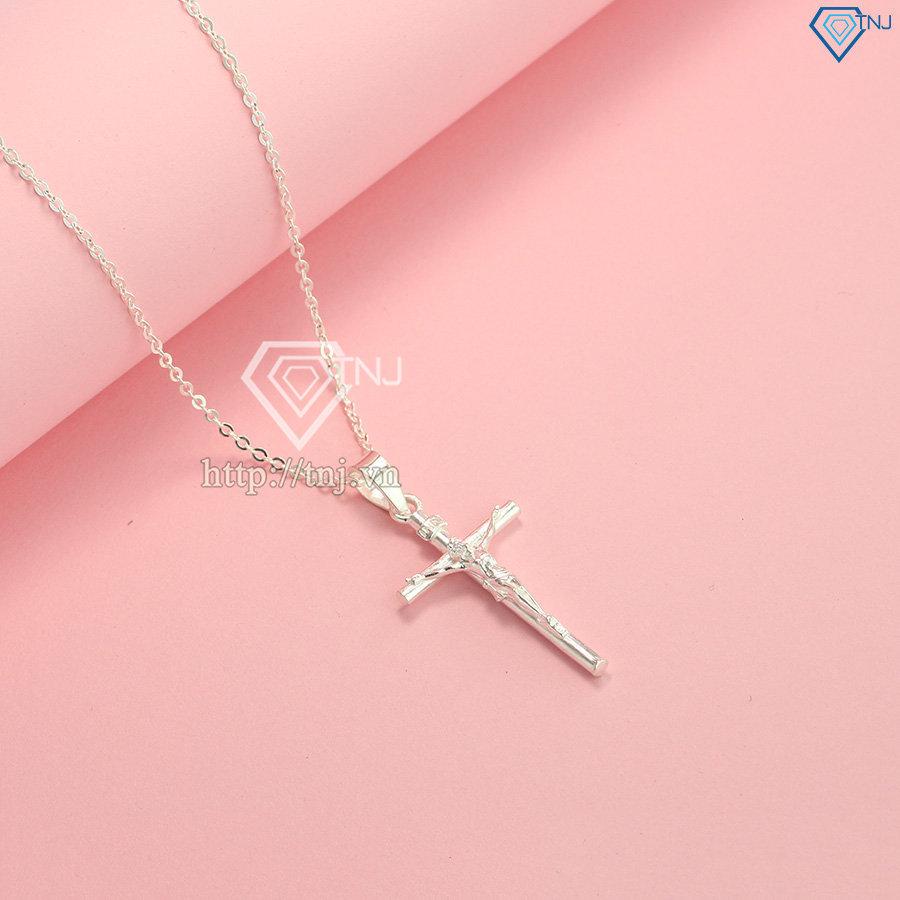 Mặt dây chuyền thánh giá nữ DCN0477