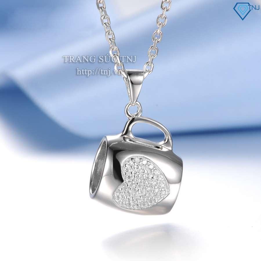 dây chuyền bạc nữ mặt chiếc cốc dcn0151