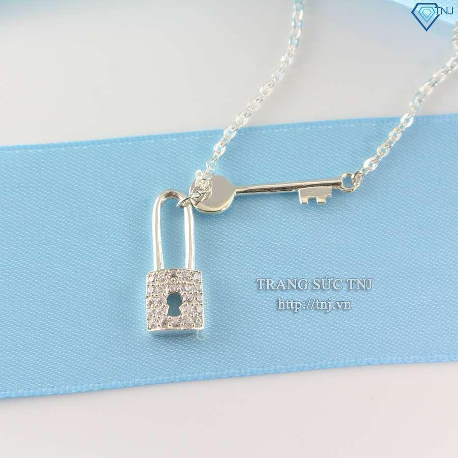 dây chuyền bạc nữ mặt chìa khóa tình nhân ND0221