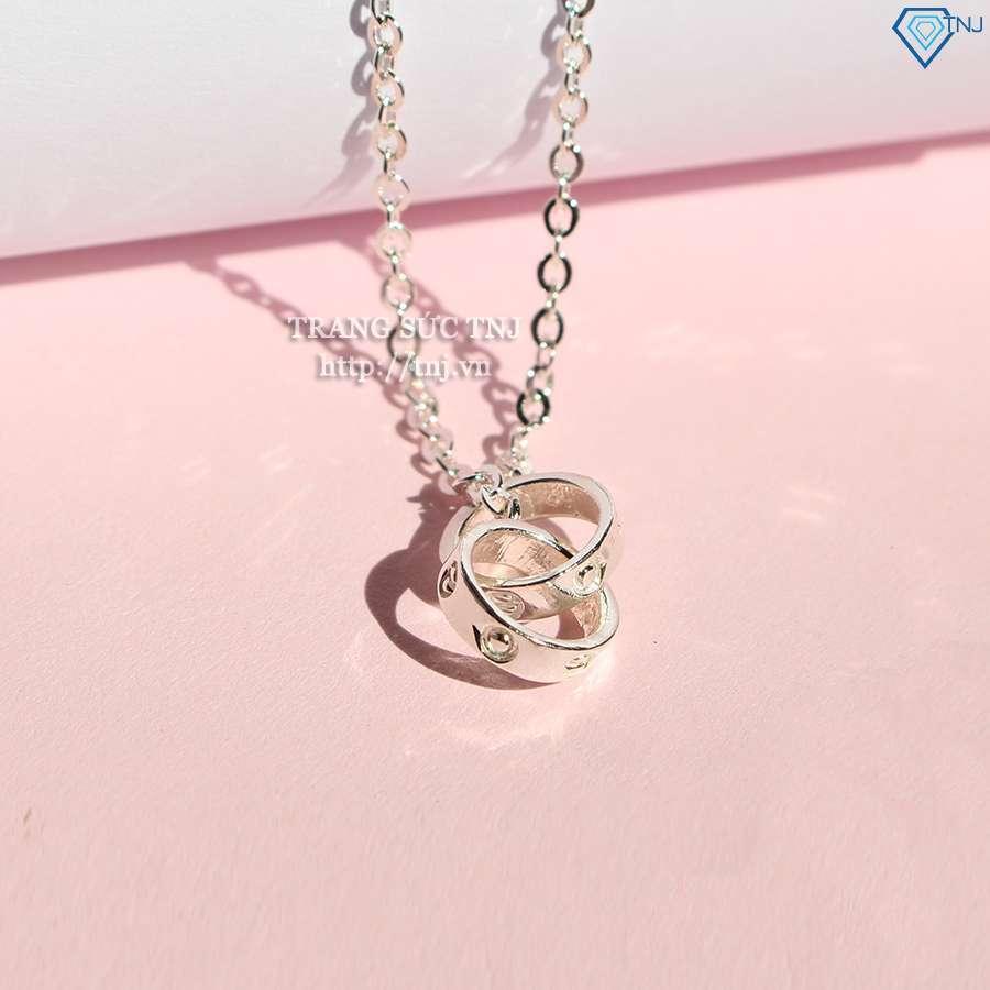 dây chuyền bạc nữ khắc tên DCN0272