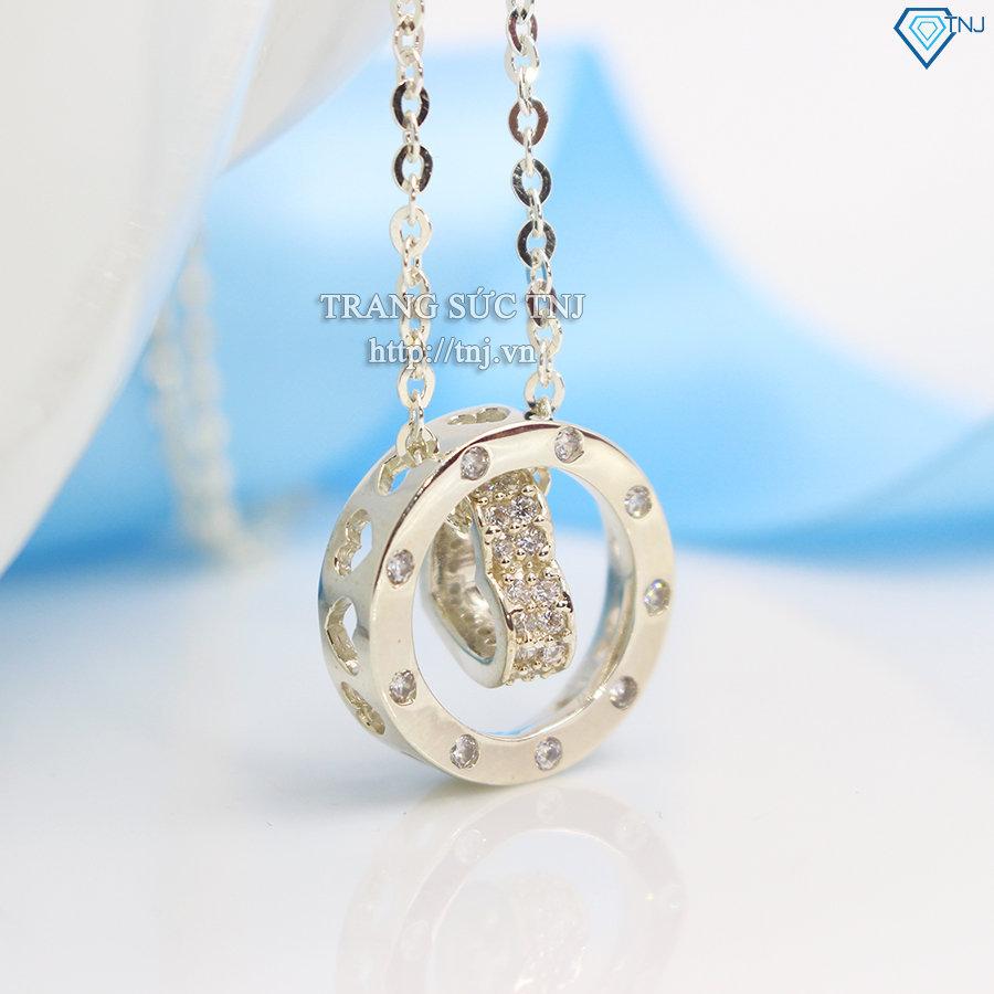 Dây chuyền bạc nữ mặt trái tim DCN0242