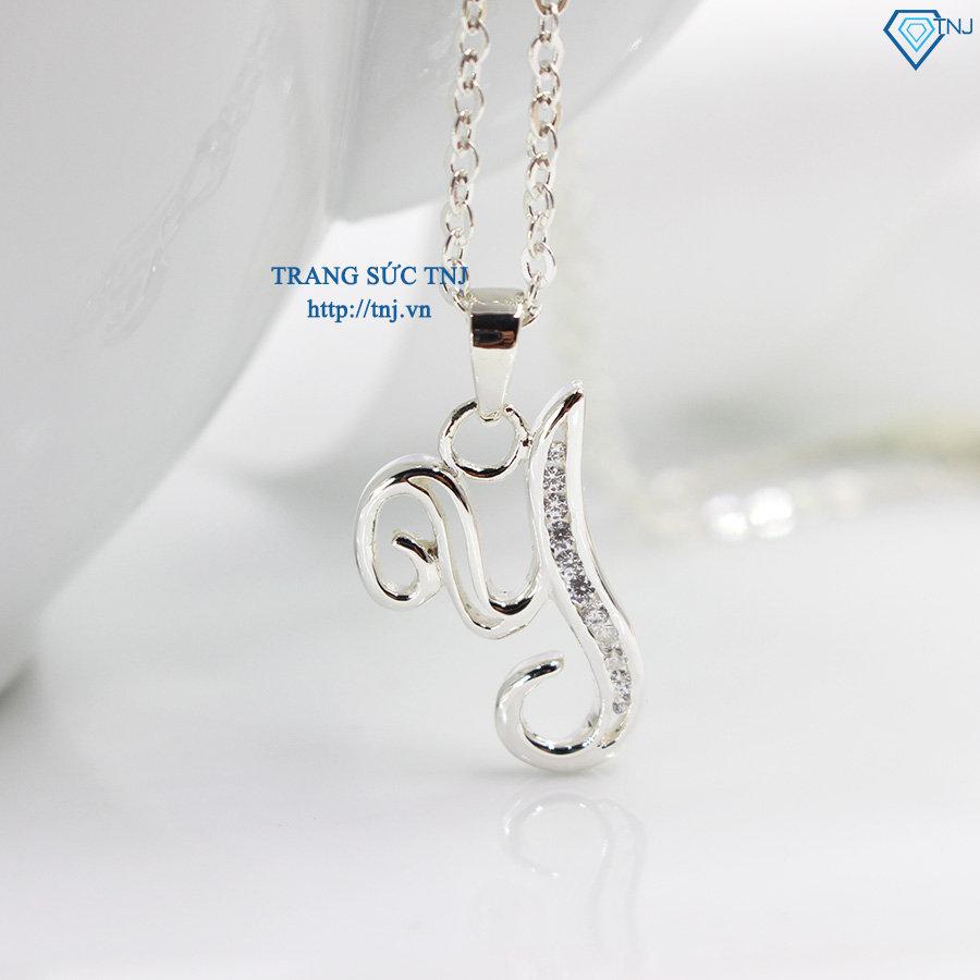 Dây chuyền bạc nữ mặt chữ Y DCN0253