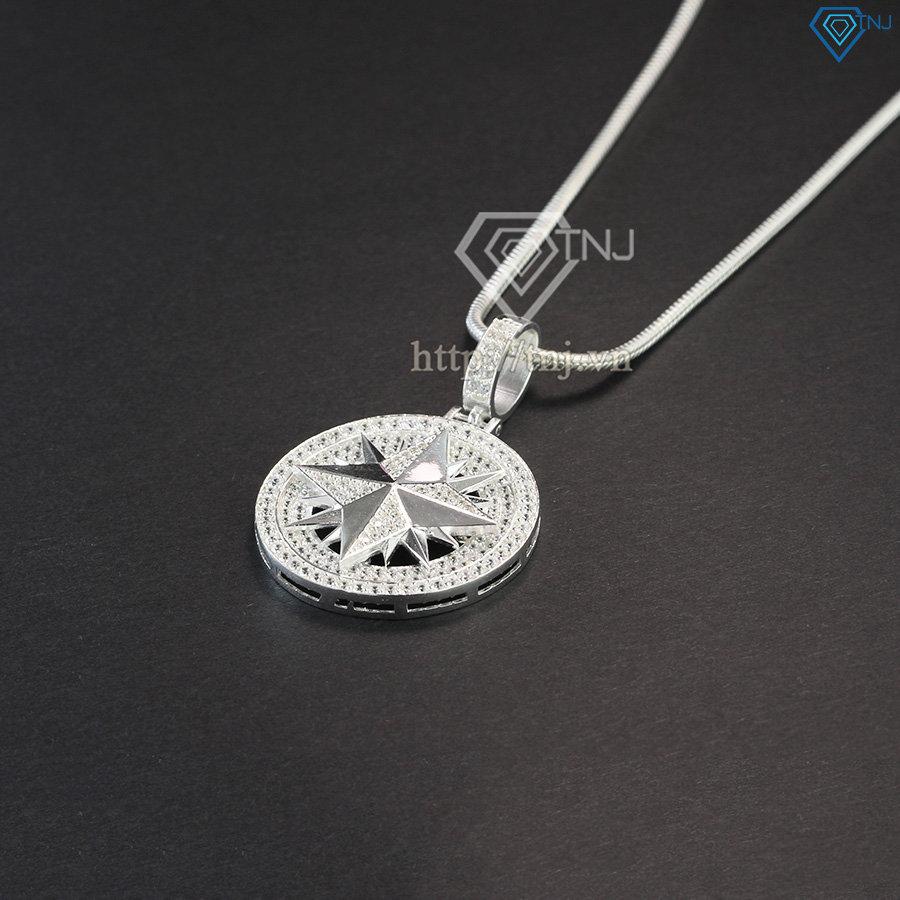 Dây chuyền bạc nam mặt ngôi sao DCA0030
