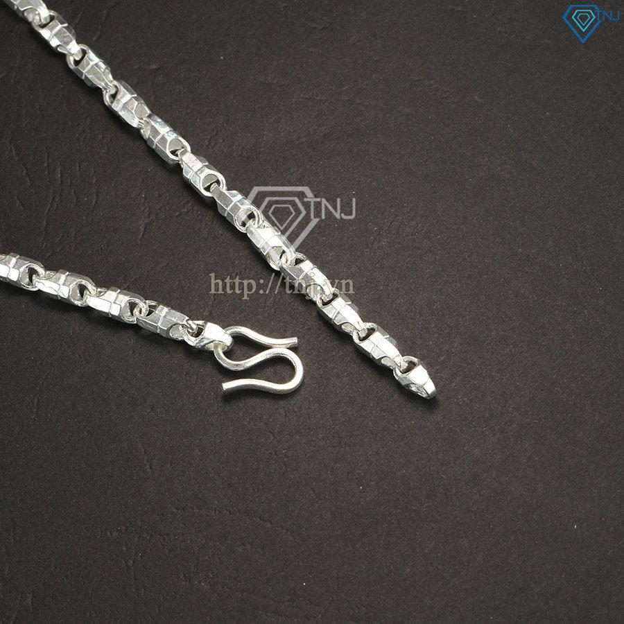 Dây chuyền bạc nam sợi to DCK0003