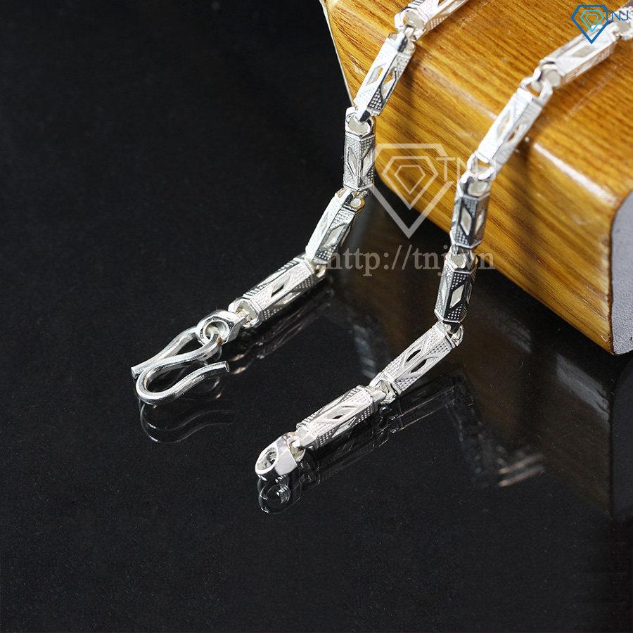 Dây chuyền bạc nam đốt trúc nam tính DCK0004