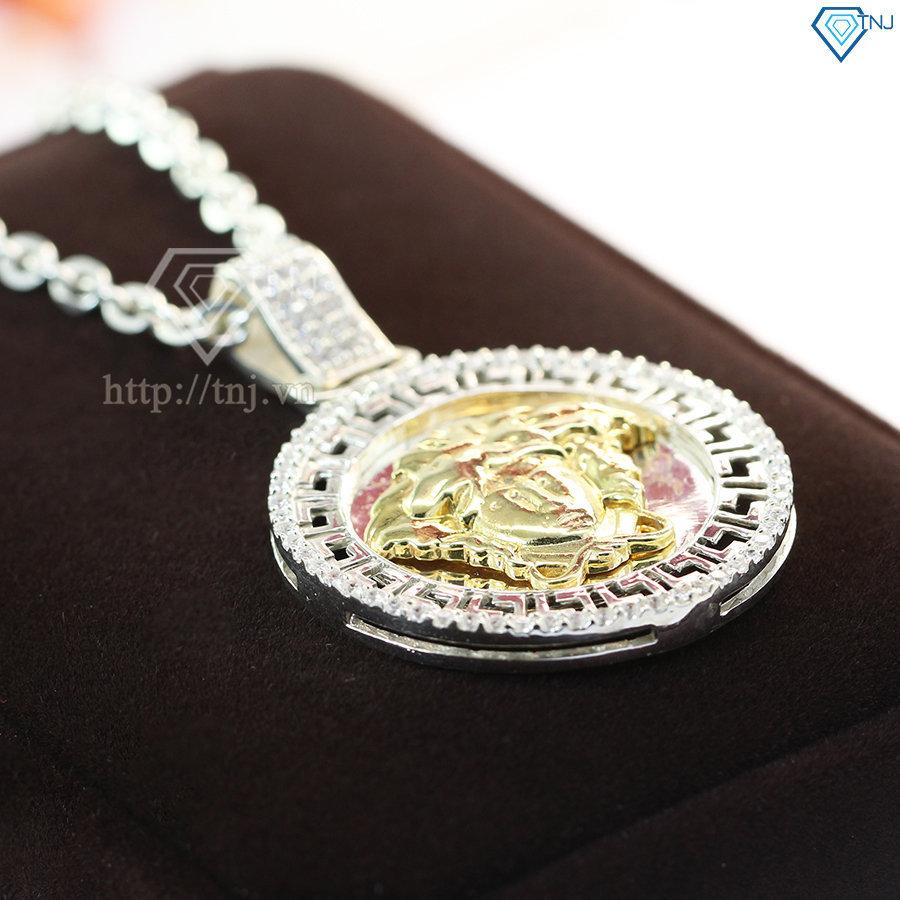 dây chuyền bạc nam mặt Versace DCA0011