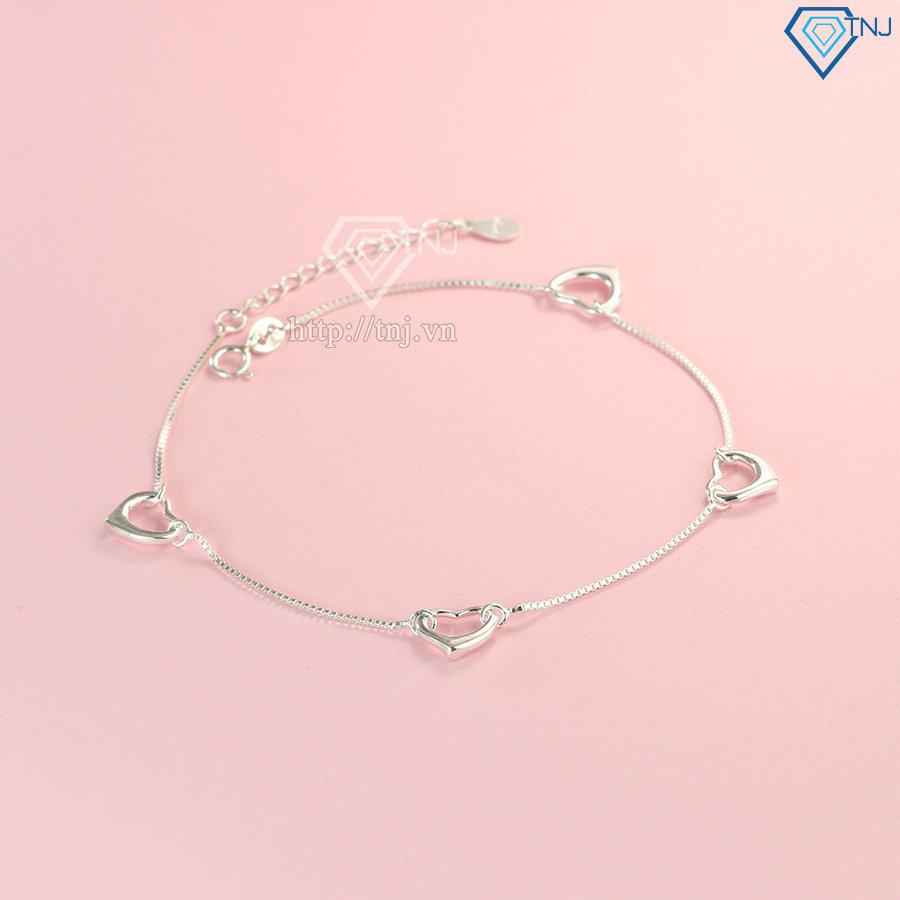 Lắc chân hình trái tim LCN0071