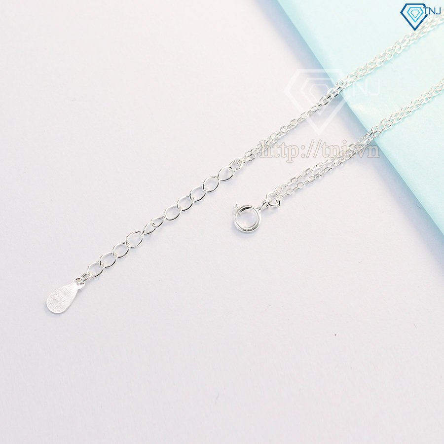 Lắc tay bạc nữ hình vô cực đơn giản LTN0095