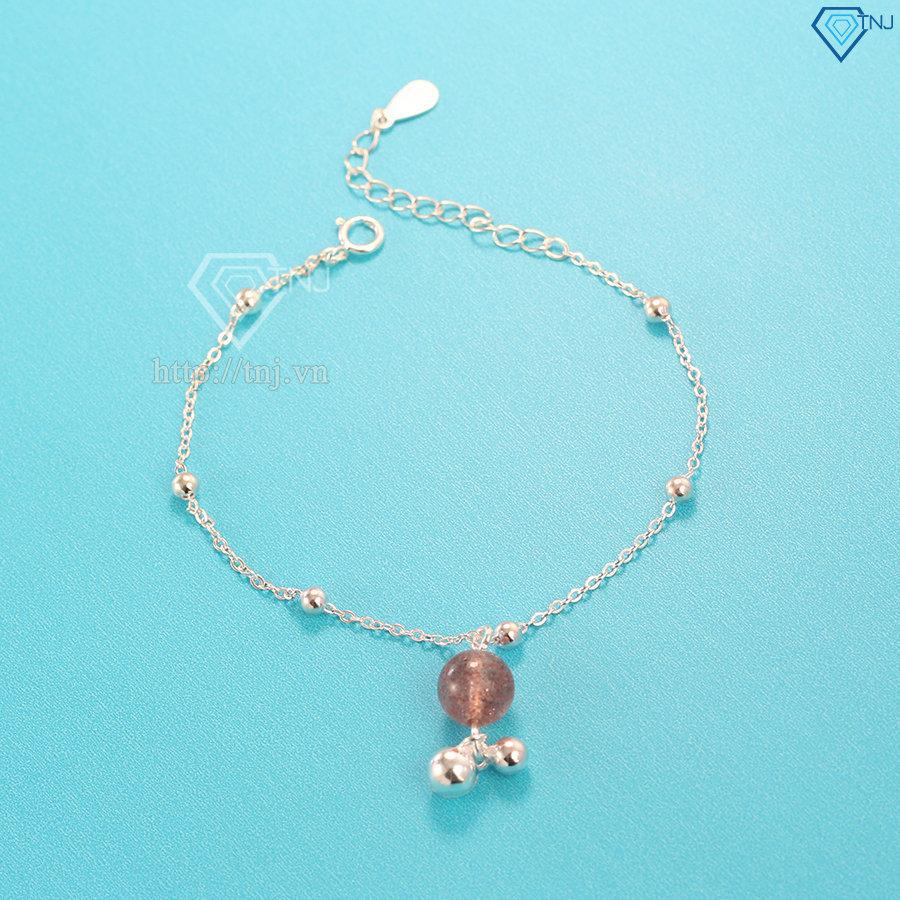 Lắc tay chuông bạc nữ đẹp LTN0143