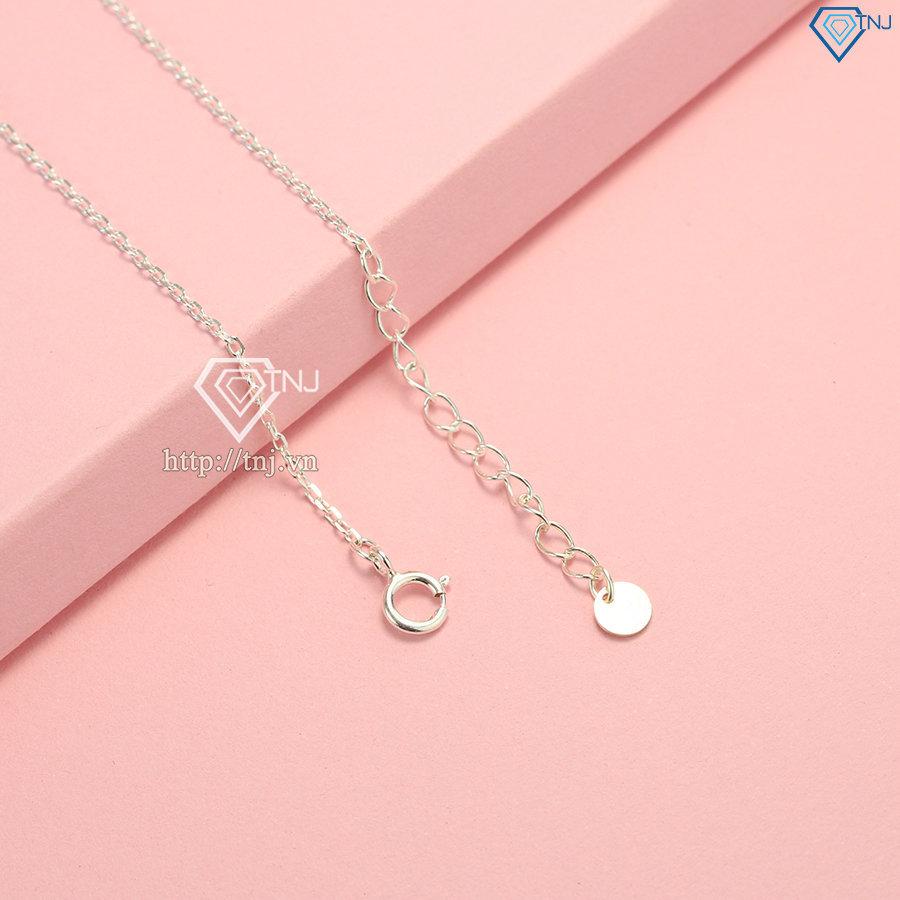 Lắc tay bạc nữ đẹp hình trái tim LTN0178