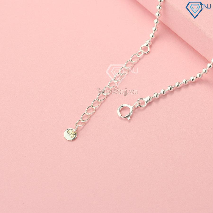 Vòng tay bạc nữ giá rẻ LTN0180