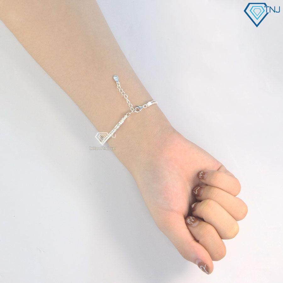 Lắc tay bi bạc nữ đẹp LTN0206