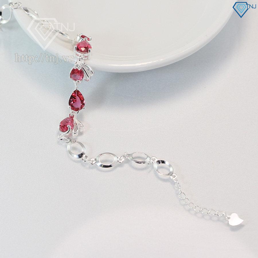 Lắc tay bạc nữ đẹp đính đá LTN0115