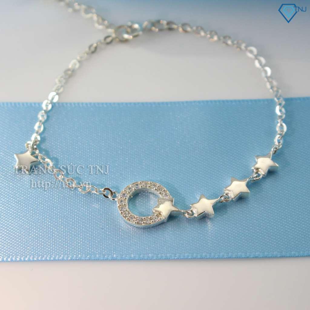 lắc tay bạc nữ hình ngôi sao ltn0080