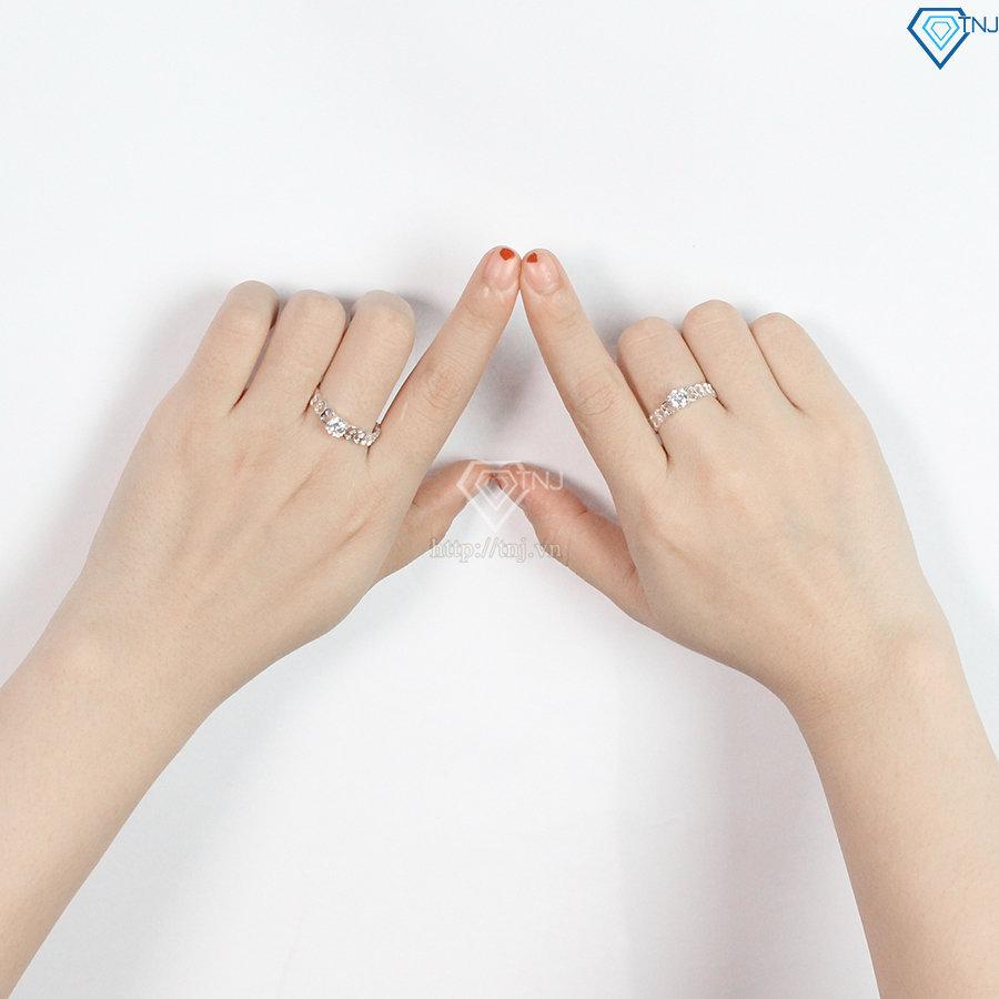 Đồ cặp với bạn thân - Nhẫn đôi bạc ND0214
