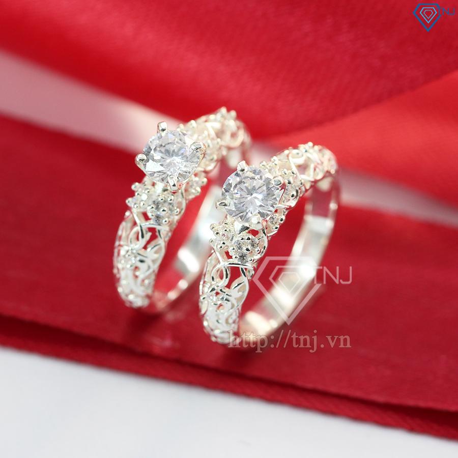 nhẫn đôi bạc dành cho bạn thân