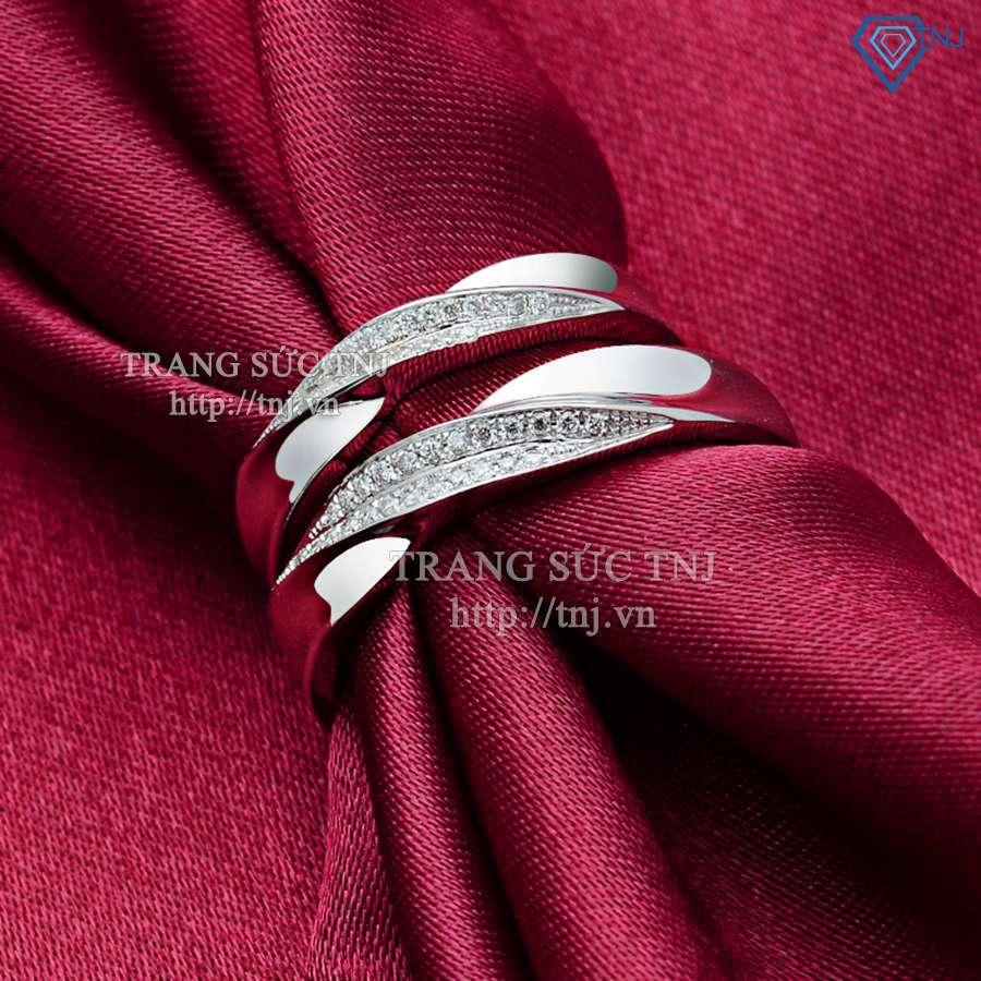 nhẫn đôi bạc nhẫn cặp bạc đẹp nd0151