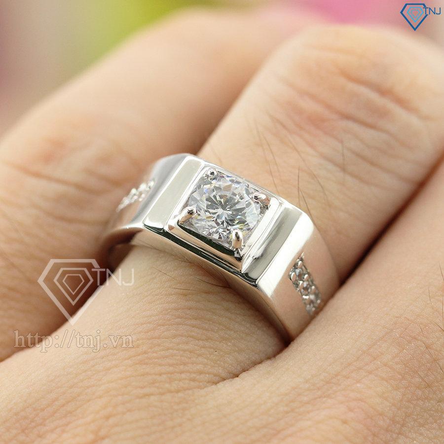 Nhẫn bạc nam giá rẻ tại Hà Nội NNA0030