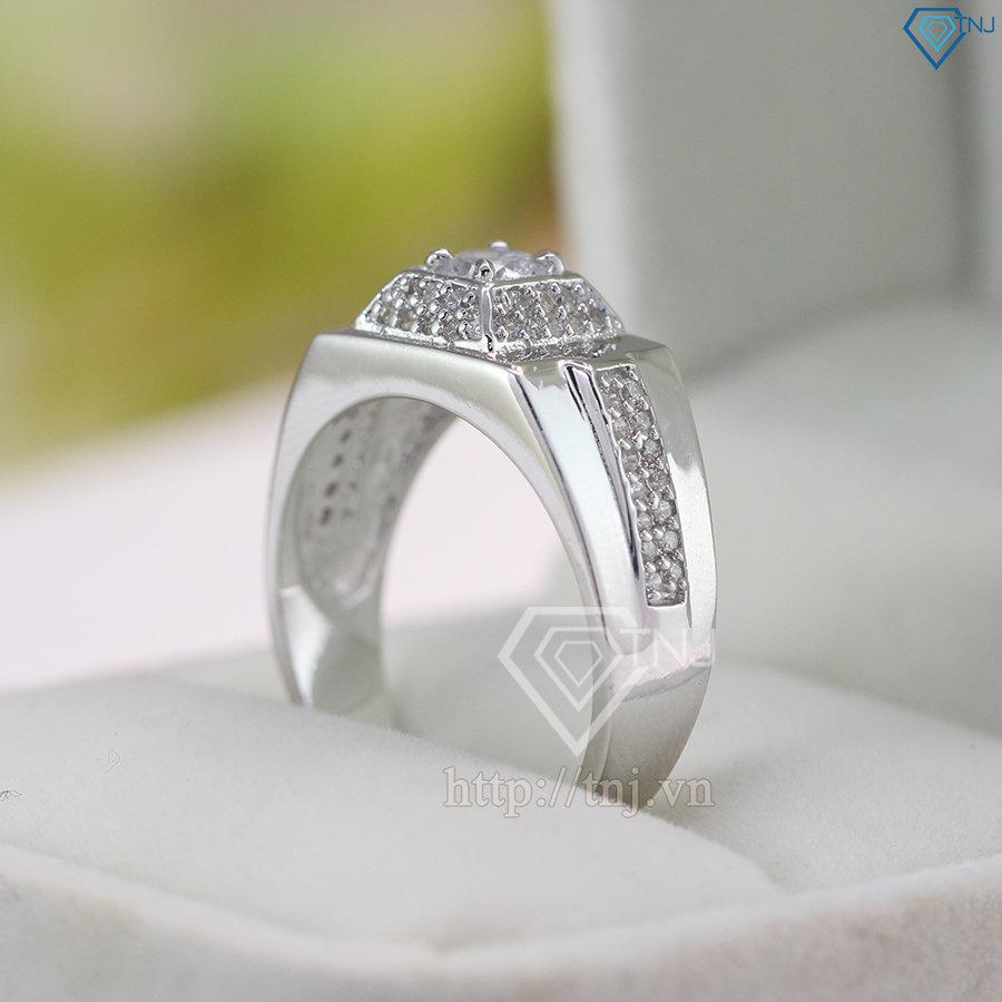 Nhẫn bạc nam Hà Nội NNA0058