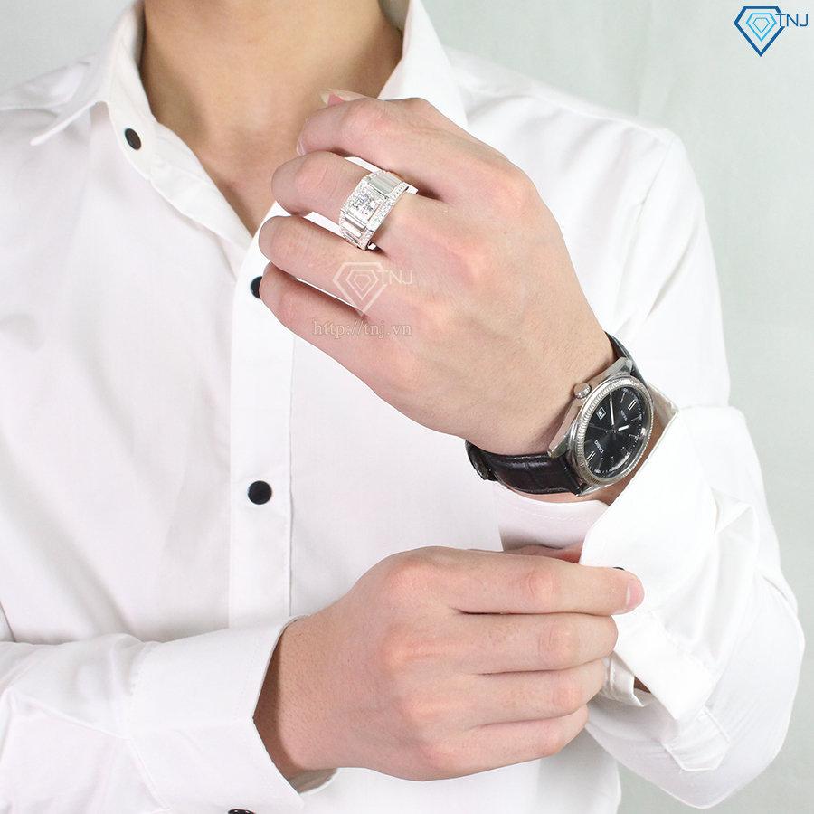 Nhẫn bạc nam đẹp sang trọng NNA0101