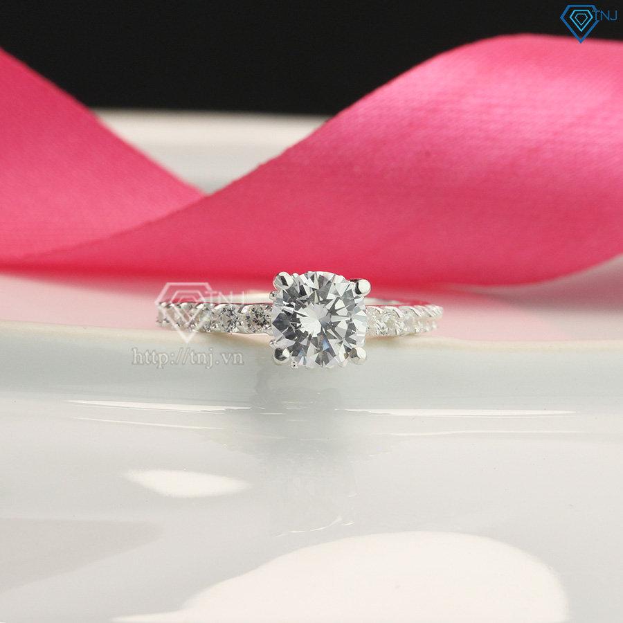 Nhẫn bạc nữ cá tính đính đá cao cấp NN0141