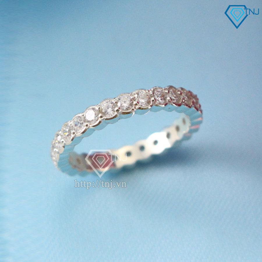 Nhẫn bạc nữ full đá NN0150
