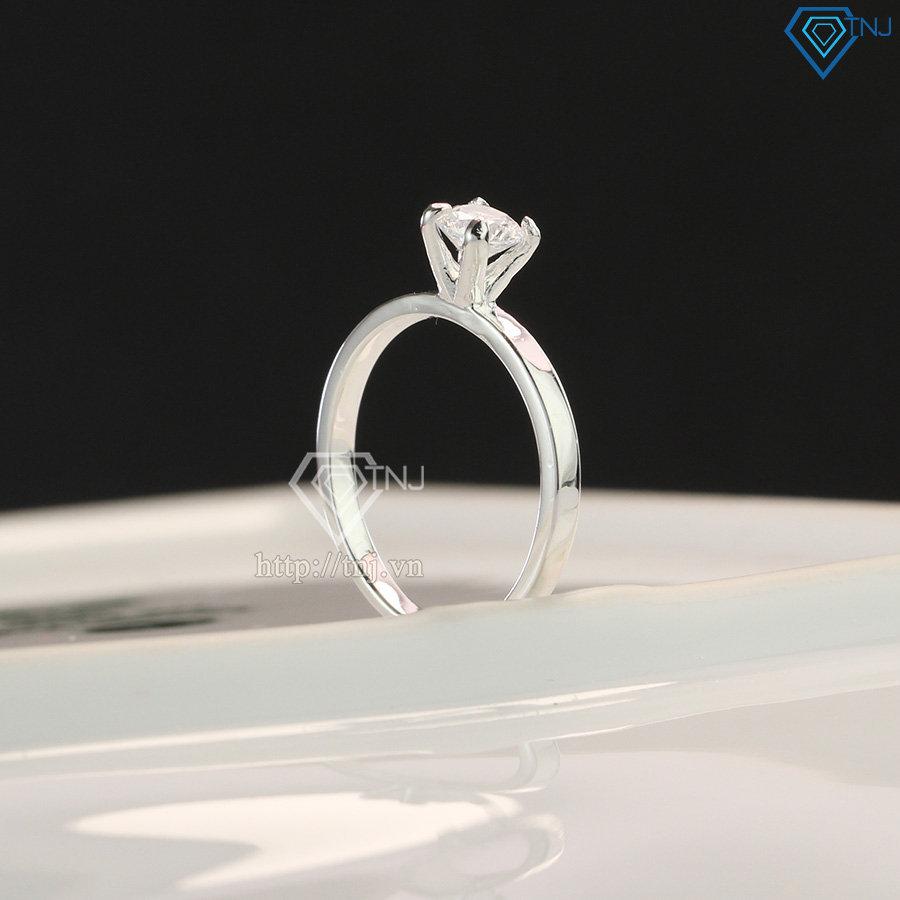 Nhẫn bạc nữ giá rẻ đính đá cao cấp NN0178