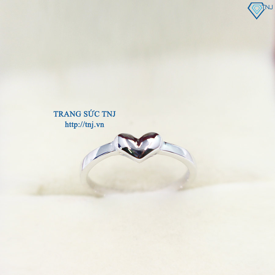Nhẫn bạc nữ trơn đơn giản NN0180