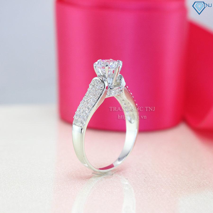Nhẫn bạc nữ giá rẻ hà nội đẹp NN0189