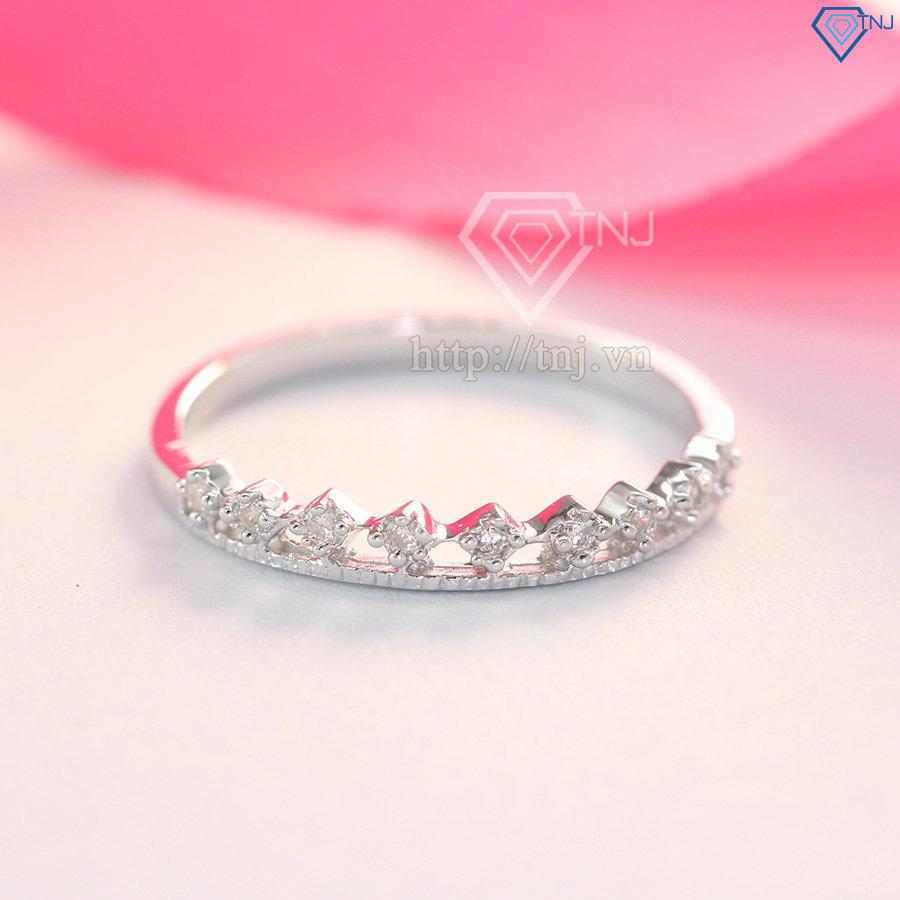 Nhẫn bạc nữ đeo ngón út NN0197