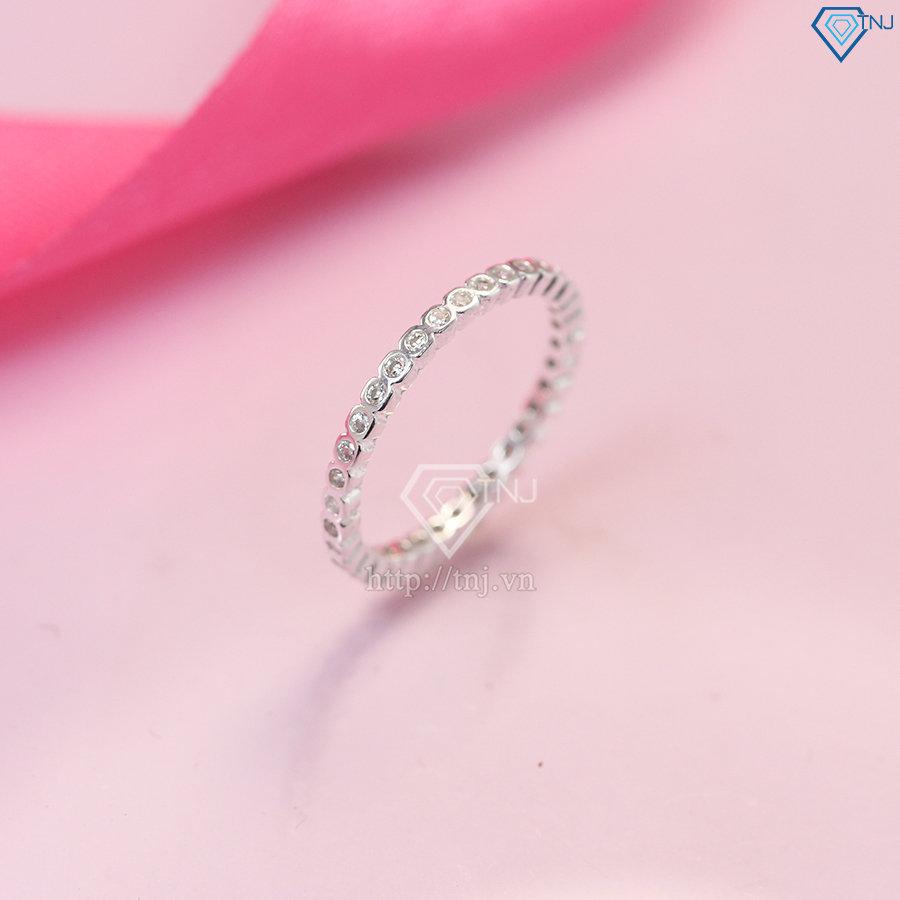 Nhẫn bạc nữ đeo ngón út NN0242