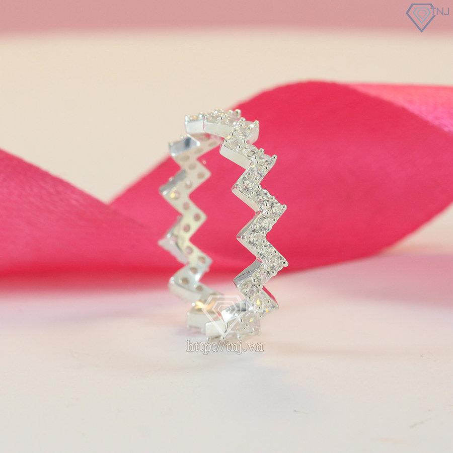 Nhẫn bạc nữ đeo ngón trỏ cá tính NN0313