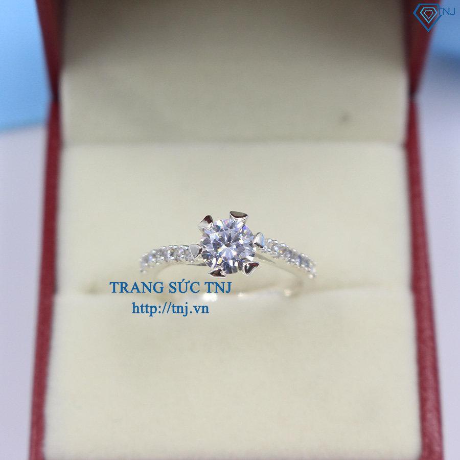 Nhẫn bạc nữ đẹp đính đá cao cấp NN0166