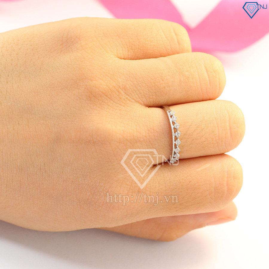 nhẫn bạc nữ đẹp giá rẻ nn0197