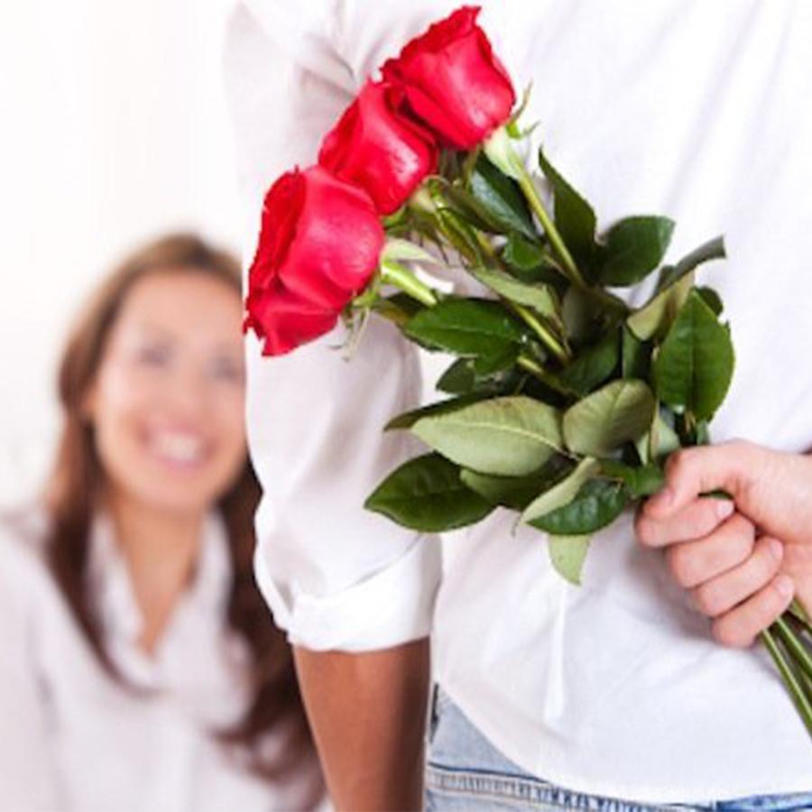 hoa hồng tặng bạn gái nhân ngày valentine