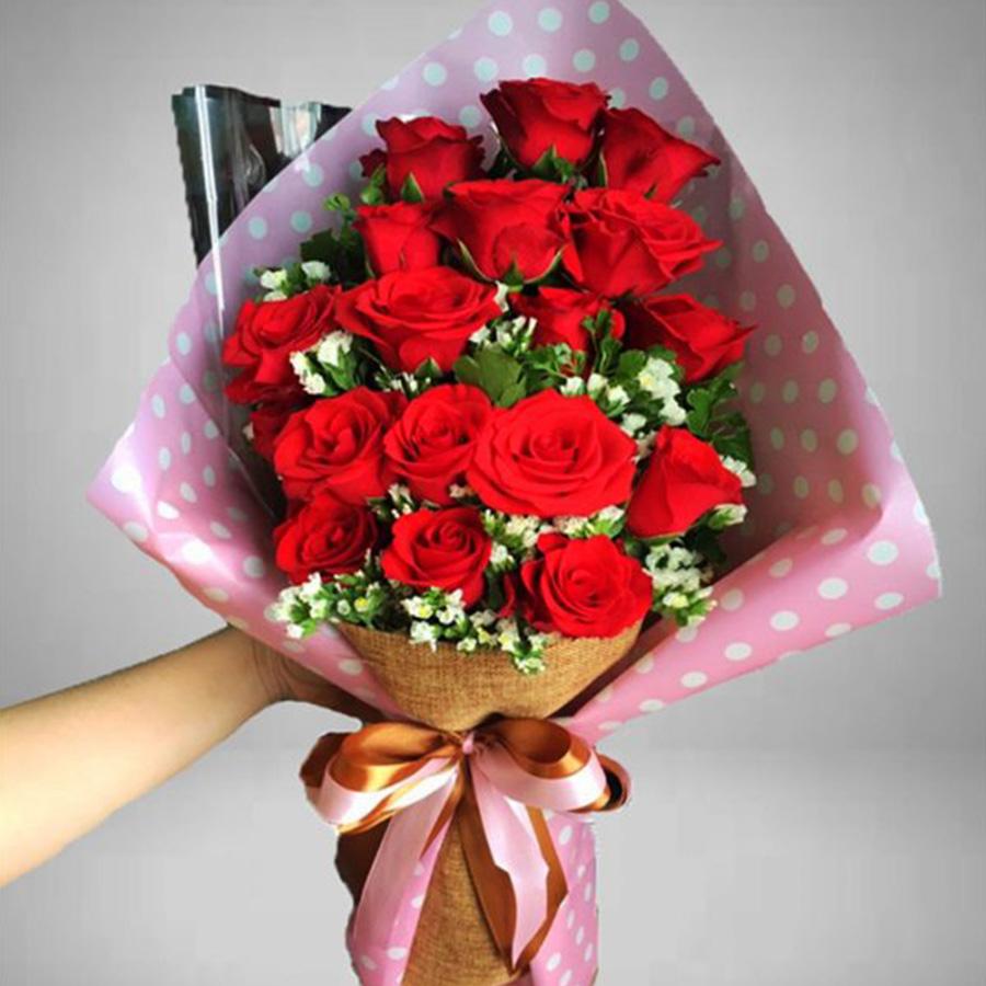 tặng hoa bạn gái nhân ngày sinh nhật