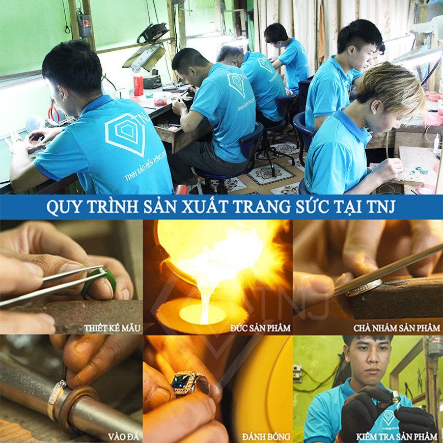 xưởng sản xuất trang sức tnj