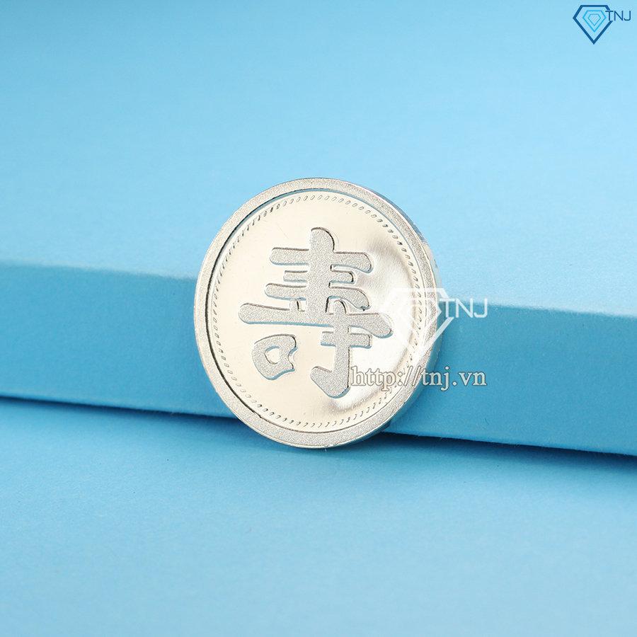 Đồng bạc đánh gió, đồng bạc đánh cảm chữ Thọ XDC0002