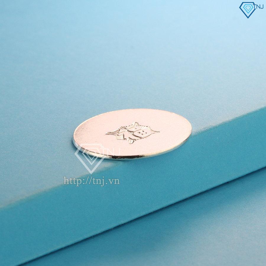 Đồng bạc đánh gió, đồng bạc đánh cảm chữ Phúc XDC0003